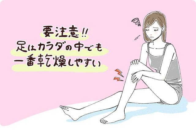 脚の毛穴のケアはターンオーバーが重要